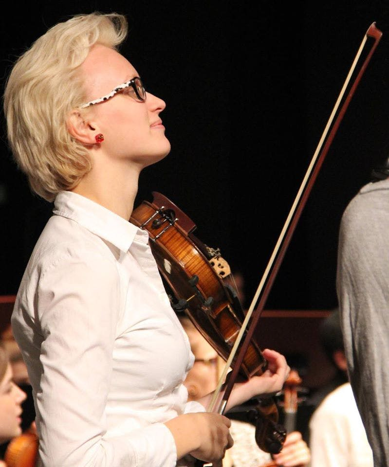 Art, Sound (Music), Violin in Amsterdam, Pays-Bas
