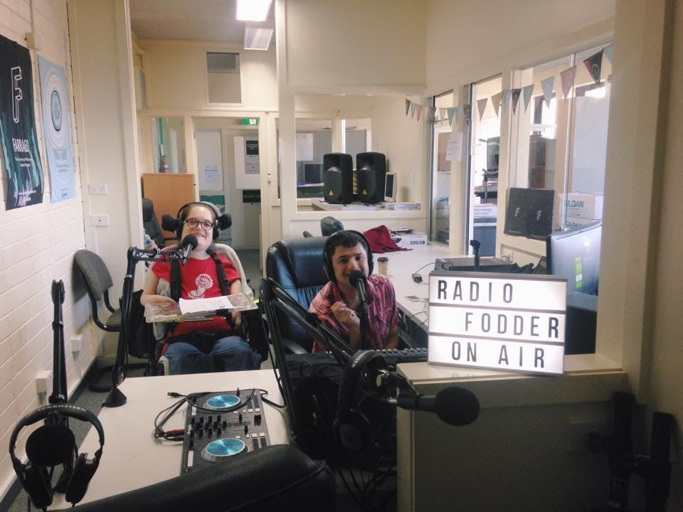 Final episode of the radio programme 'Network Disabled'