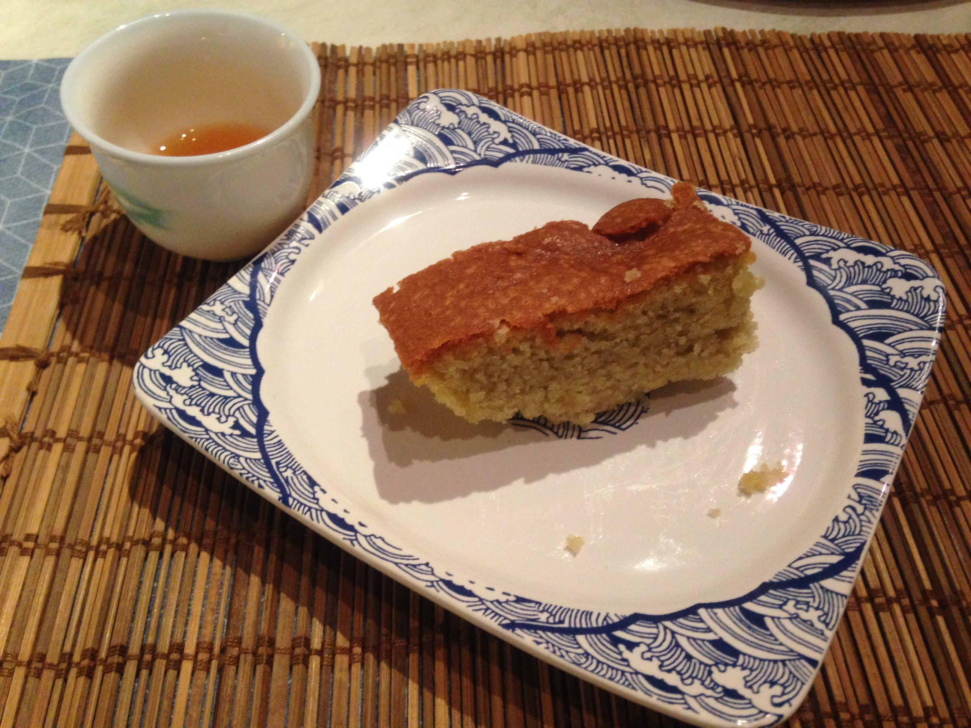 ''Tea time ''Chinese conversation table-Mocha cake