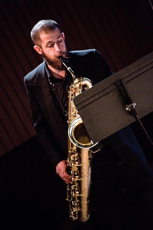 Hebrew, Saxophone in Bruxelles, Belgique